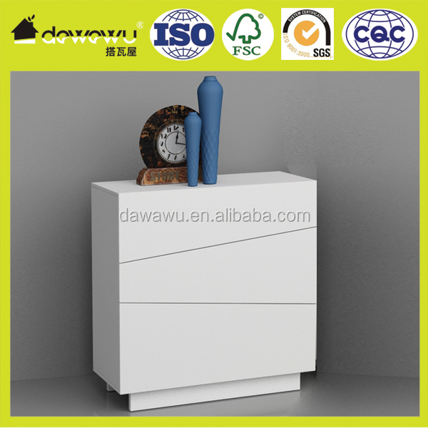 home furniture PU lacquering white modern wood china kitchen cabinet