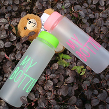 The Hottest Custom Print 500ML lEmpty Plastic ECO Drinking Water Bottle
