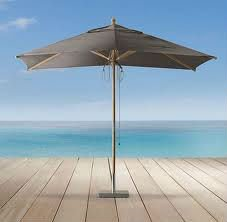 Sea Beach Rectangular Umbrella