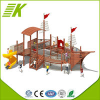 Plastic Commercial Playground/Natural Outdoor Playground Toys For Kids/Wooden Toys For Children