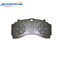 Hot Sale Rear Brakes Casting Back Plate For Brake Pad
