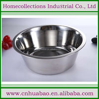 All stainless steel dog bowl, stainless steel 201 pet dish, cheap pet feeder