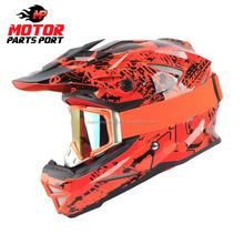 Custom wholesale motorcycle racing full face helmets with ECE/DOT