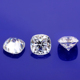 EF Color Cushion Crushed Ice Cut 9mm Synthetic White Moissanite Loose Diamond.