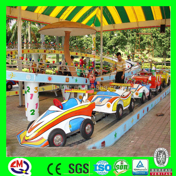 China outdoor games rides family roller coaster amusement rides train set