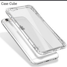 LED Light Flash TPU+PC Hybrid Phone Case for iPhone 6