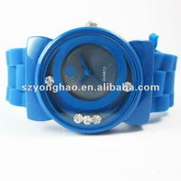 new 2011 top brand mens watches silicone strap watch
