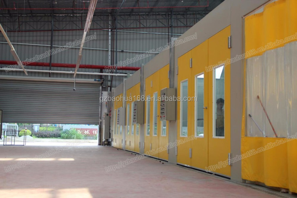 Multi Booth Car Spray Paint Booth Line Production Line