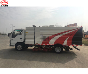 TATA,SCANIA,FOTON Hyundai truck mounted roas sweeper superstructure for sale