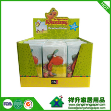 Promotional Custom Printed Pocket Facial Tissue Pack with Display Box