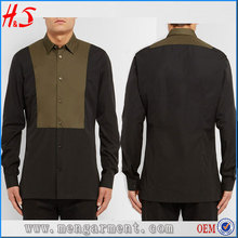 Latest Pattern Shirts High Quality Slim Fit Plain Dry Cotton Shirts For Turkey Men