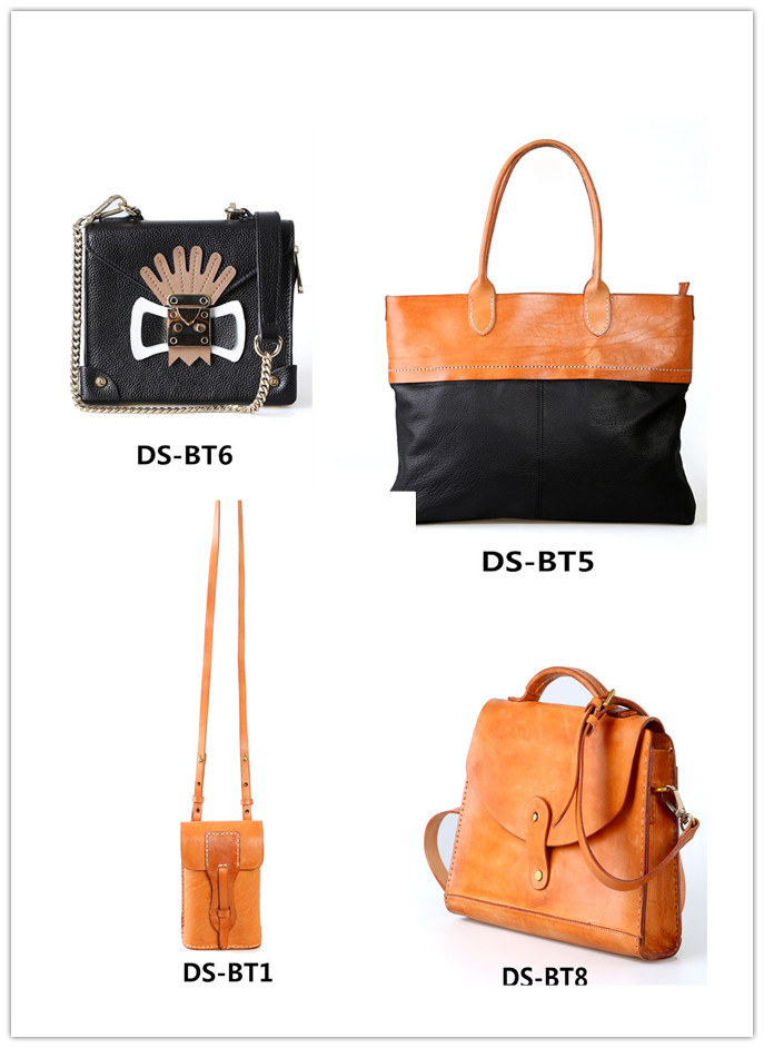 hot sale briefcase womens leather tote bag leather handles