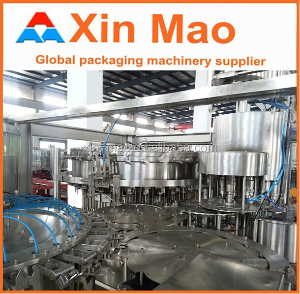 soda water/carbonated drinks filling machine carbonated drink making equipment aerated beverage filling machine