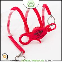 Latest product safe secure applied coiled spiral bungee cord