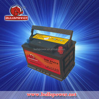 12v 75ah korea maintenance free car battery
