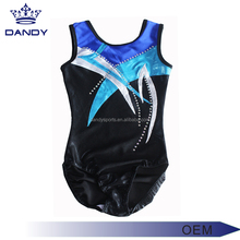 Trade guarantee manufacturer cheap price rhinestone gymnastics leotards custom adult gymnastics leotards design