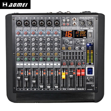 Modern design Sophisticated design AM-Q6 professional studio small music sound mixer