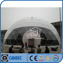 big geodesic transparent dome tents for event