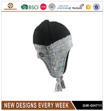 Fashion New Design Winter Knitted Hat for Men Warm Good Quality