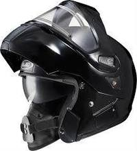 IS-MaxSN BT Black Modular Flip-Up Snowmobile Helmet - Electric