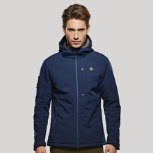 Wholesale Windproof Customized Style Polyester Fabric Softshell Jackets For Mens