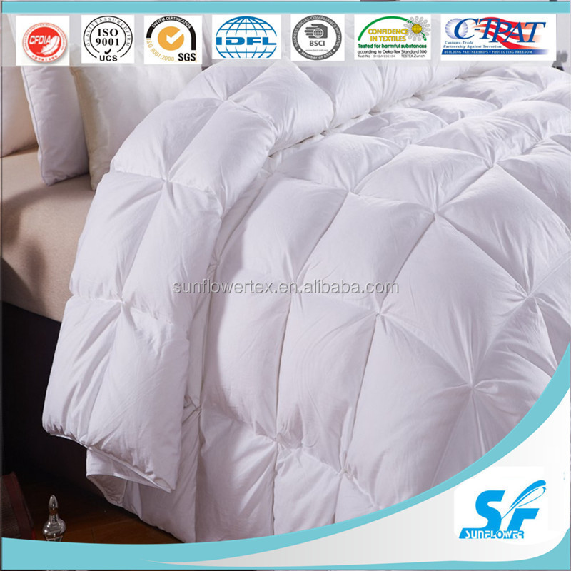 Goose down Duvet / Luxury Hotel Quilt for King Size Bed