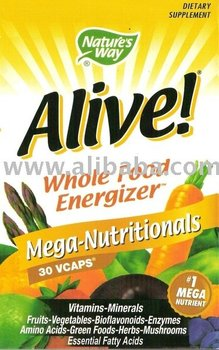 Alive! Mega-Nutritionals Health Food