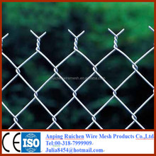 9 gauge galvanized chain link fence supply the whole solution including mesh fabric and accessories