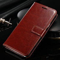 Genuine Leather Slim Fit Wallet Flip Cover Folio note 4 case For Samsung note 4 cover