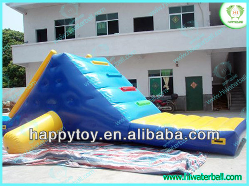 HI CE high quality exciting inflatable water slides wholesale
