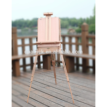 Promotion Man Collapsible Portable Oil Painting Beech wood French Sketch box easel with wooden palette 2017
