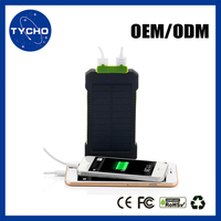 New Design Fast Charging For Cellphone Solar Inverter Charger 15000mAh Colorful Design Solar Power Bank
