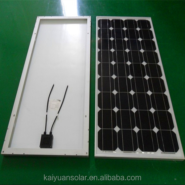 2014 Hot sell 12v 130w monocrystal solar panel