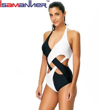 Low price one piece ladies mature swimsuit wholesale