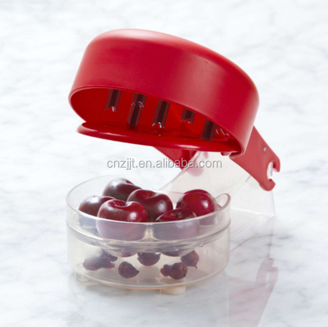 Plastic Cherry Core Remover Cherry Take Nuclear Device Useful Cherry Pitter Corer Kitchen Cooking Tool Supplies Gadgets.