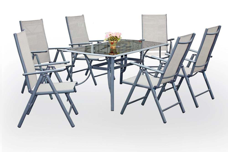 cheap modern outdoor patio table and chairs set