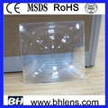 color transparent focal length 220mm diy projector fresnel lens