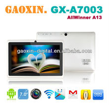 cheapest tablet pc made in china 7inch allwinner a13 q88 tablet pc