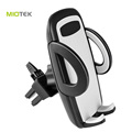 Universal flexible car phone holder lazy single clip car air vent phone holder silicone one touch bracket mobile phone holder