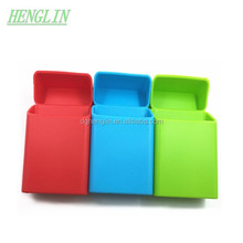 HOT CRAMPON Colorful soft silicone cigarette case, silicone cigarette pack cover, silicone cigarette box