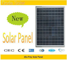 45w high watt power solar panel