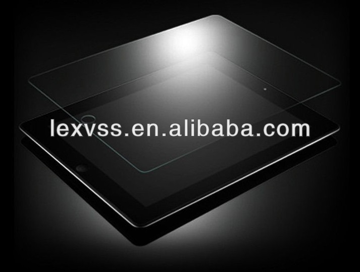 2013 New Product 0.2mm Ultra Shield Premium mirrorTempered Glass Screen Protector/Screen Guard for ipad 2 3 4