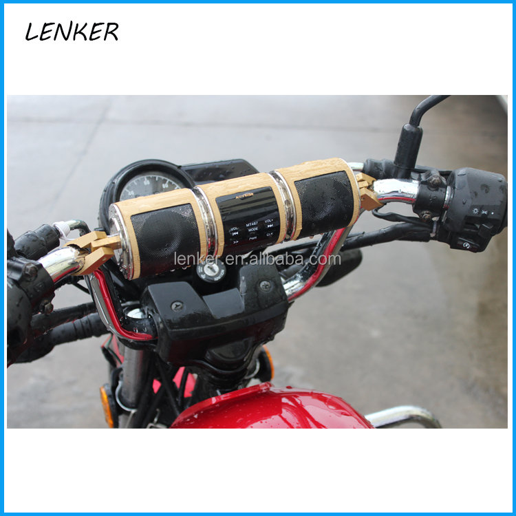 motorcycle motorbike audio system accessory for cycling outside waterproof speaker[LENKER]