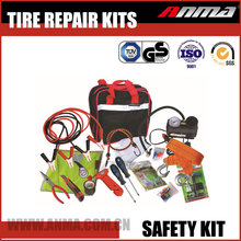 New type safety kit roadside mini car tire emergency repair kits AM809-YS-QZH24