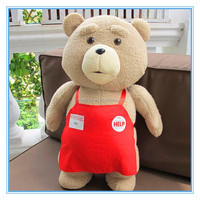 Top selling custom made teddy time soft toys