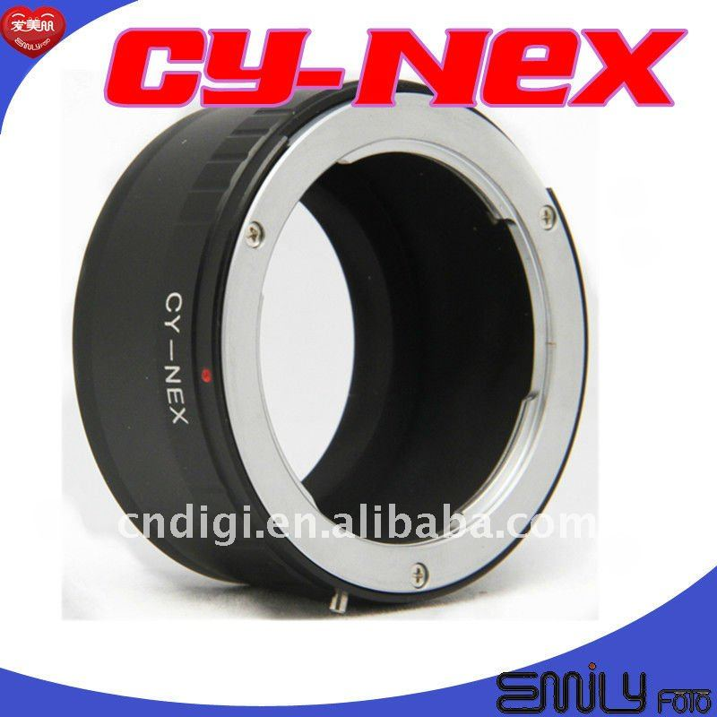 Popular DSLR Lens Adapter Contax CY C/Y lens to E Mount NEX-3 NEX5