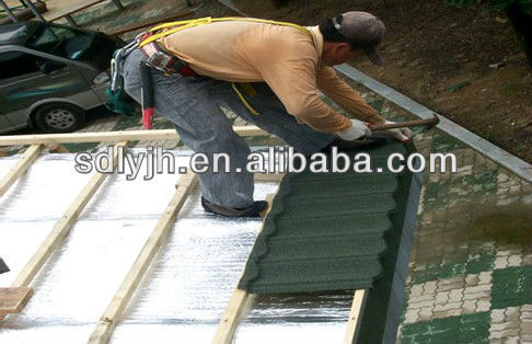 1400*420 mm asphalt shingles prices /CE Certificate roof tile made in china/good quality roof shingle for villa
