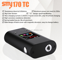 best selling products VW/ VT mode with 170W strong output wattage SMY170 TC 3W-170W kangertech subox mini