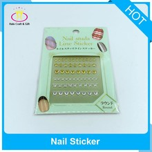 Hot Sale 3D Dry Nail Strips Art Decorations Stickers