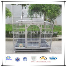 Foldable Powdered /Galvanized Steel Wire /Tube Dog Crate/ Houses/Pet Cages Supplier